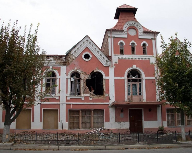 The Museum of History and Culture of Luhansk. Photo: http://informator.lg.ua/