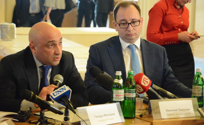 General prosecutor of AR Crimea Gunduz Mamedov and lawyer Nikolai Polozov