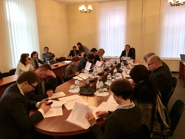 The session of the Verkhovna Rada of Ukraine Committee on Human Rights, National Minorities and International Relations