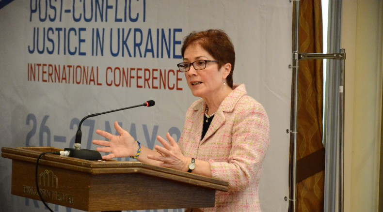 Marie Yovanovitch, the U.S. Ambassador to Ukraine