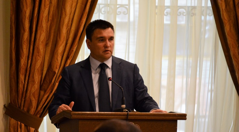 Pavlo Klimkin, Minister of Foreign Affairs of Ukraine