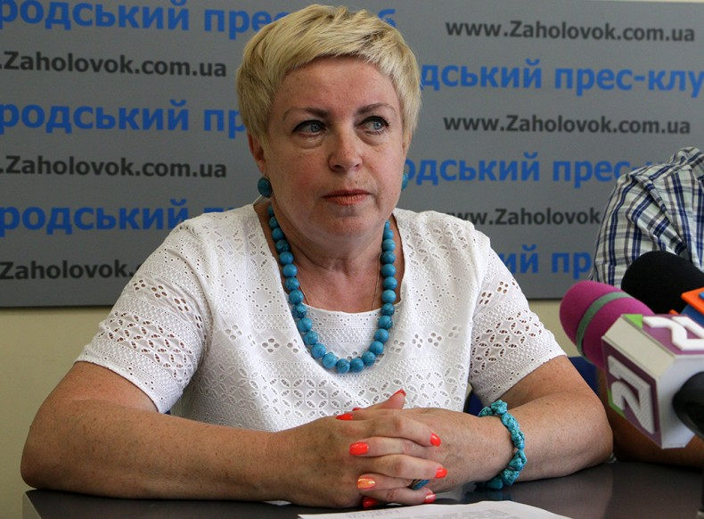 Iryna Stoliarova, Deputy Head of Health Department of Uzhhorod City Council