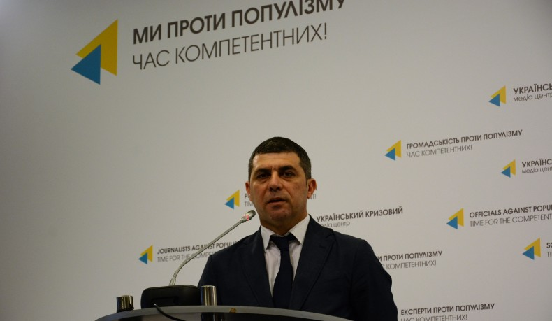 The First Deputy Minister for Temporary Occupations Yusuf Kurkchy