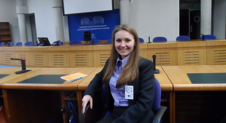 Vitaliia Lebid at the European Court of Human Rights