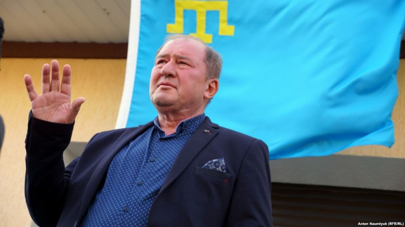 Ilmi Umerov, deputy head of the Mejlis of the Crimean Tatar people