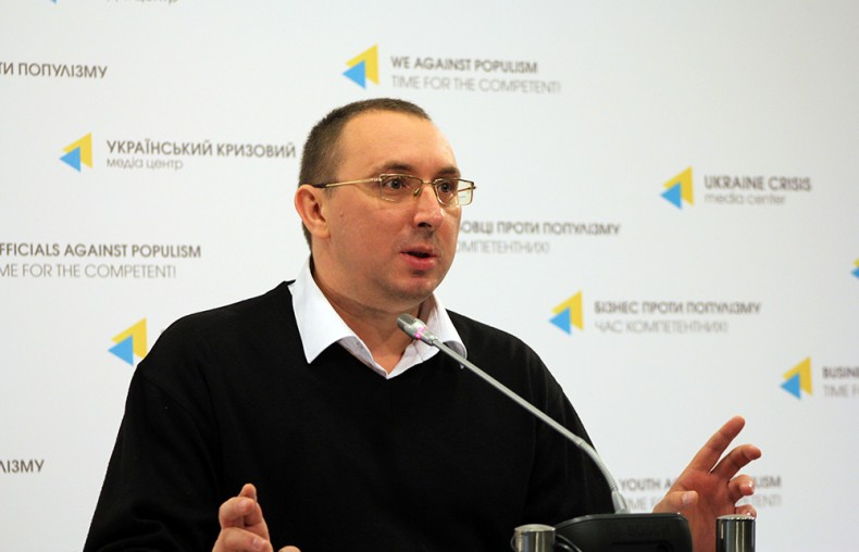 Oleksandr Siedov, an analyst at the Crimean Human Rights Protection Group