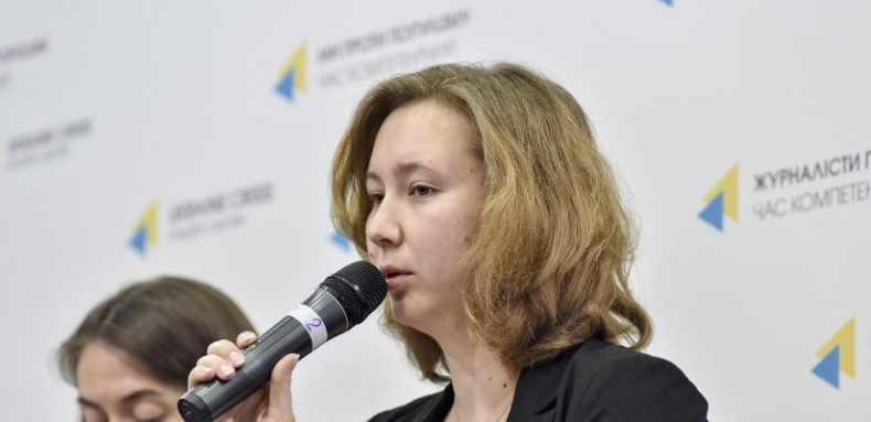 Olga Skrypnyk, Head of the Board of the Crimean Human Rights Group