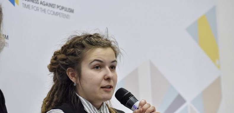 Yevgeniya Andriyuk, deputy head coordinator of the Crimea SOS civil society initiative