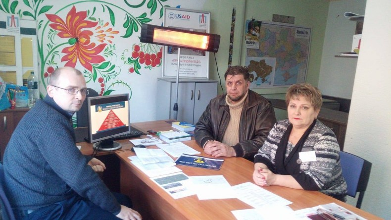 Public discussion of monitoring results in Toretsk