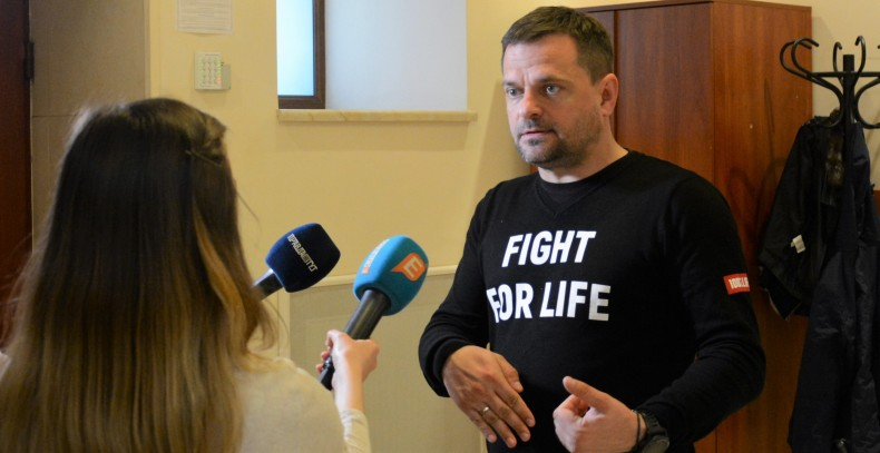 Dmytro Sherembey, Coordination Board member, All-Ukrainian Network of People Living with HIV/AIDS